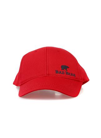 Erkek Kırmızı Bad Bear Şapka 5002438769001 Spor Aksesuarları