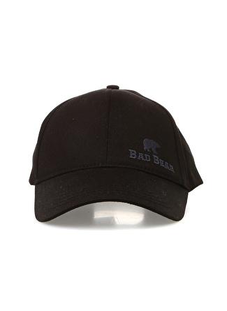 Erkek Siyah Bad Bear Şapka 5002438786001 Spor Aksesuarları