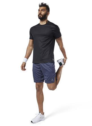 XL Lacivert Reebok ED2715 Workout Ready Knit Şort 5002439206004 Spor Erkek Giyim