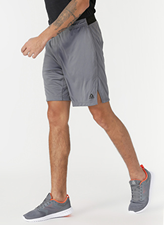 XL Gri Reebok ED2713 Workout Ready Knit Şort 5002439215004 Spor Erkek Giyim