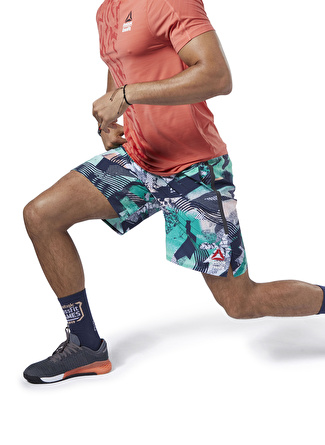 L Petrol Reebok DY8450 CrossFit Games Speed Şort 5002439222001 Spor Erkek Giyim
