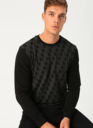 Cotton Bar Siyah Sweatshirt