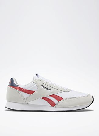 41 Gri - Kırmızı Reebok DV6563 Royal Classic Jogger 2.0 Lifestyle Ayakkabı 5002439460003 & Çanta Erkek Sneaker