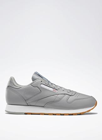 40.5 Gri - Beyaz Reebok DV7172 Classic Leather LifestyleAyakkabı 5002439490002 & Çanta Erkek Sneaker