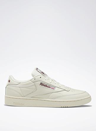 43 Krem Reebok DV8812 Club 85 Lifestyle Ayakkabı 5002439529006 & Çanta Erkek Sneaker