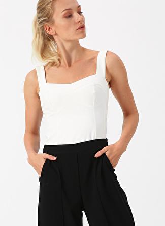 Koyu Beyaz Random Bluz 38 5002439648003 Kadın Giyim Gömlek &