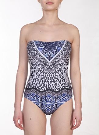 38 Çok Renkli Zeki Sea Mayo 5002440256001 Kadın Plaj Modası Giyim
