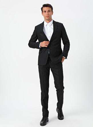 Siyah Network Lacivert Desenli Takım Elbise 54-6 5002440361005 Erkek Giyim
