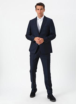 56-6 Lacivert Network Düz Takım Elbise 5002440362006 Erkek Giyim