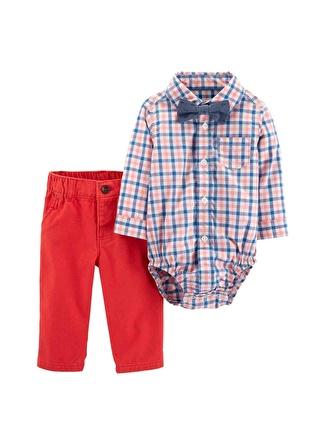 9 Ay Erkek Siyah - Sarı Carters Set 3lü 5002440543006 Çocuk Bebek Giyim
