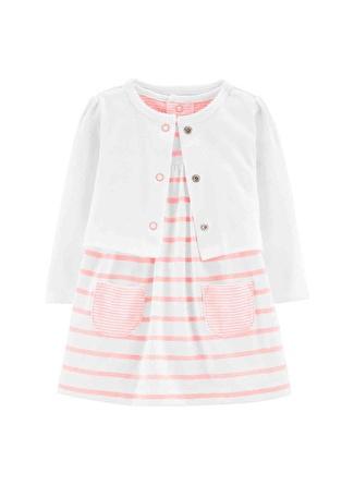 6 Ay Kadın Çok Renkli Carters Elbise 5002440549004 Çocuk Bebek Giyim