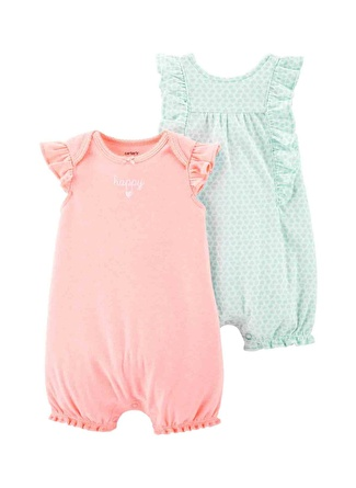 Ay Kadın Siyah - Gri Yeşil Carters Set 2li 5002440564001 Çocuk Bebek Giyim