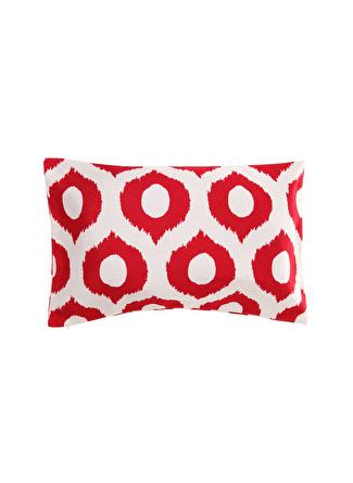 30 X 50 cm unisex Kırmızı - Beyaz Artnego Kırlent 5002441172001 Ev Tekstili Dekoratif Yastık