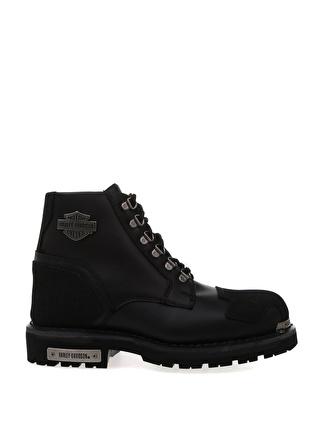 45 Siyah Harley Davidson Günlük Ayakkabı 5002441817006 & Çanta Erkek