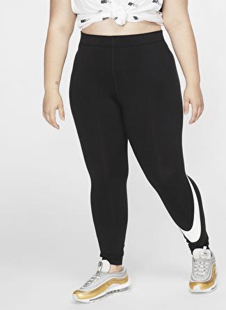 Nike Sportswear Leg-A-See Swoosh Kadın Büyük Beden Tayt