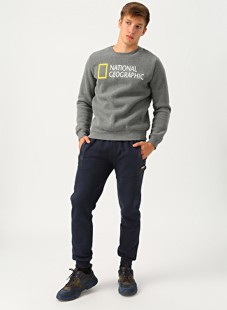 National Geographic Lacivert Sweatpant