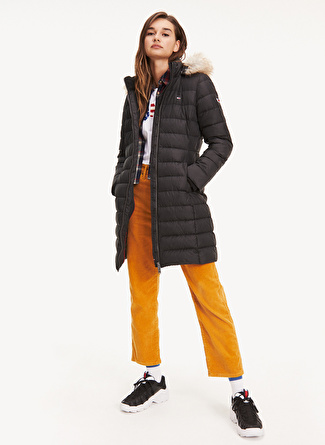 TOMMY JEANS Essential Hooded Down Coat Mont