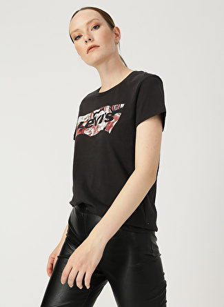 Levi's The Perfect Tee Hsmk Photo Fill Meteorite T-Shirt