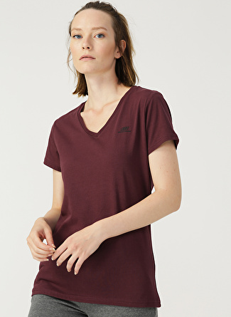 Skechers W Basic V Neck W T-Shirt