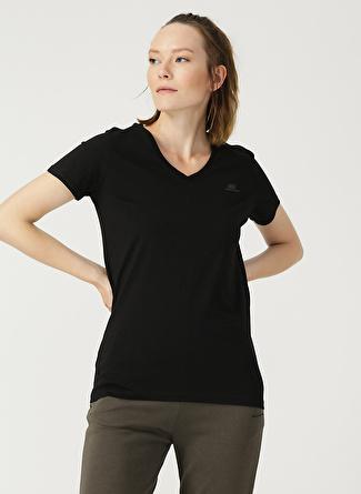 Skechers Siyah Basic T-Shirt