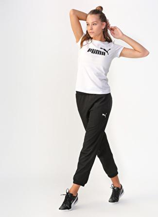 M Siyah Puma Eşofman Altı 5002462855004 Spor Kadın Giyim