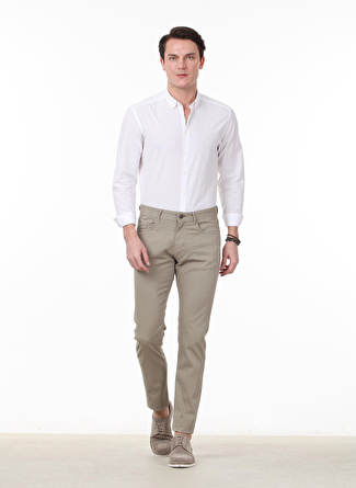 Kip Slim Fit Vizon Pantolon