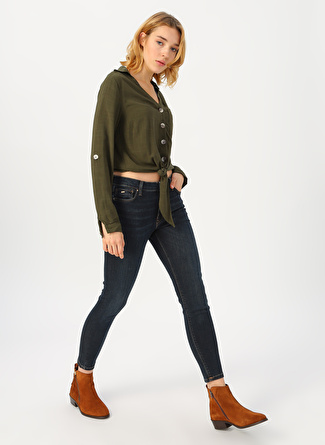 Loft Skinny Fit Denim Pantolon