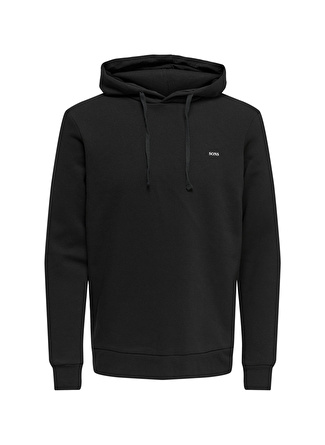 Only & Sons Siyah Kapüşonlu Sweatshirt