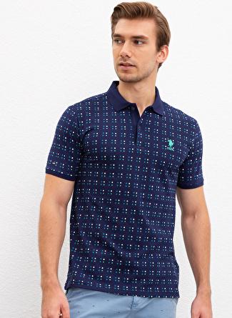 U.S Polo Assn. Polo Yaka Lacivert T-Shirt