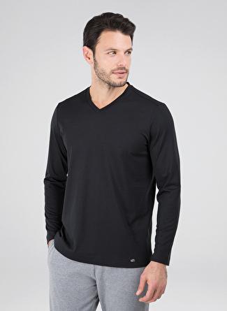 Blackspade Siyah Pijama Üst