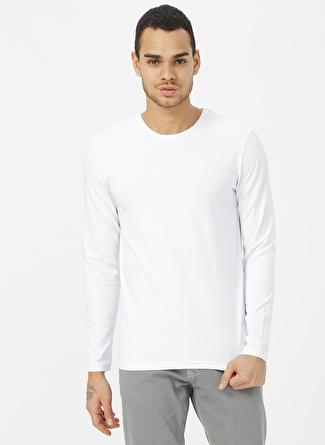 Cazador Beyaz Sweatshirt