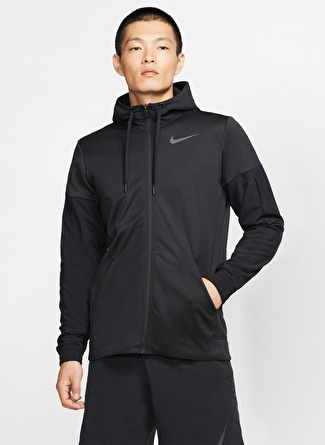 Nike Therma Erkek Kapüşonlu Zip Ceket