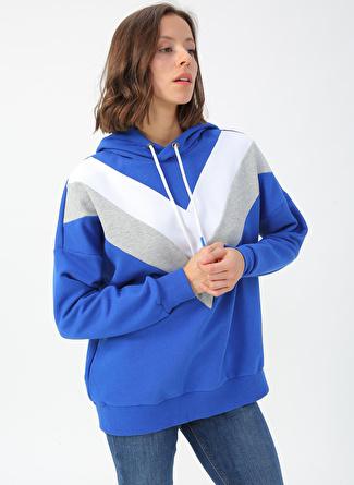 Loft Saks Kapüşonlu Sweatshirt