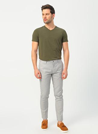 Fabrika Gri Erkek Chıno Pantolon
