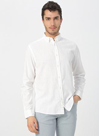 Aeropostale Beyaz Gömlek