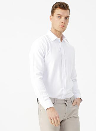Fabrika Comfort Beyaz Gömlek