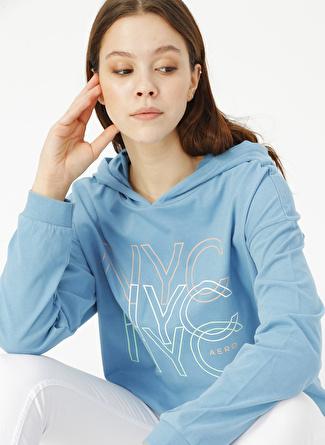 Aeropostale Mavi Sweatshirt