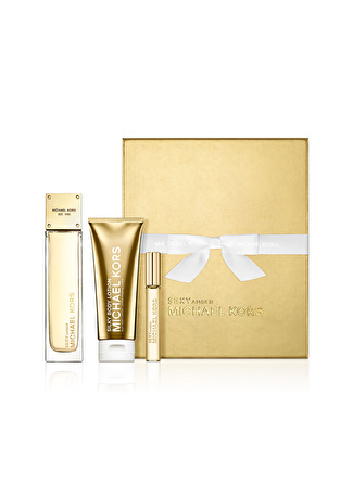 Michael Kors Sexy Amber 3 Parça 100 ml Holiday Parfüm Set