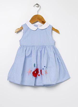 Mammaramma Mavi - Beyaz Elbise