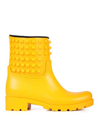 Oblavion Mia Sarı Kadın Yağmur Çizmesi