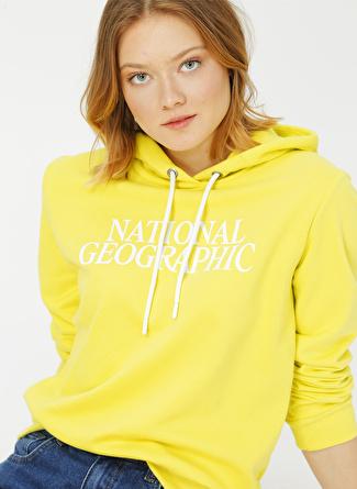National Geographic Sarı Sweatshirt