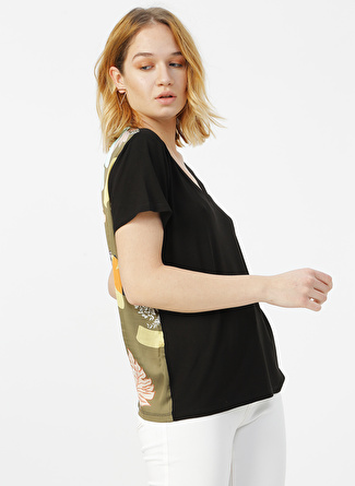 Fabrika Comfort Siyah Baskılı T-Shirt