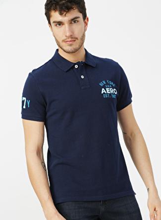 Aeropostale Lacivert Polo T-Shirt