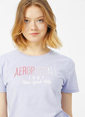 Aeropostale Lila T-Shirt
