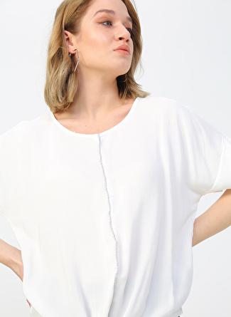 Fabrika Beyaz Bluz