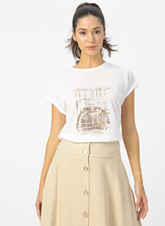 Fabrika Beyaz T-Shirt