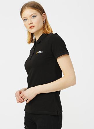 National Geographic Siyah Polo T-Shirt