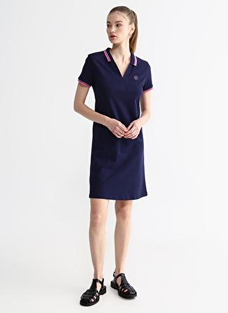 Aeropostale Lacivert Elbise