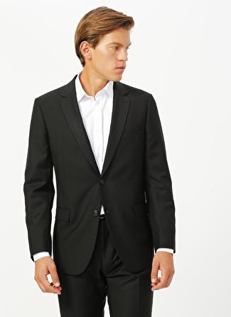 Fabrika Siyah Erkek Takım Elbise
