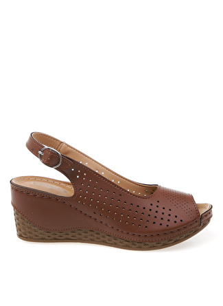 Cotton Bar Taba Sandalet